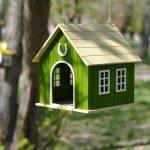 Кормушки-домики из фанеры