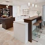 Барная кухня среди кухни