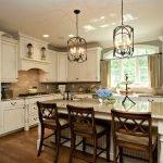 Кухонный дизайн с островом