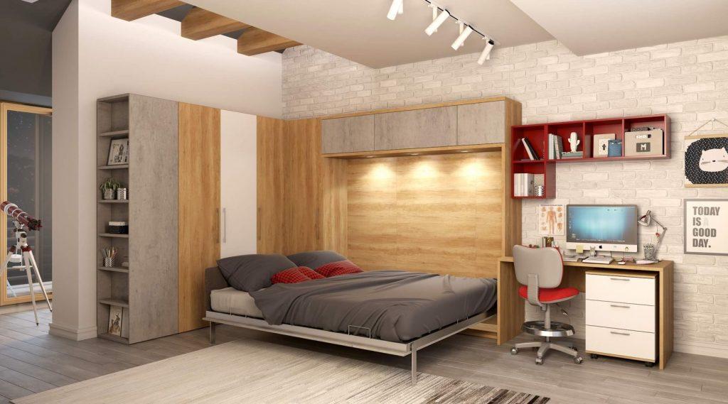 Угловой шкаф-кровать