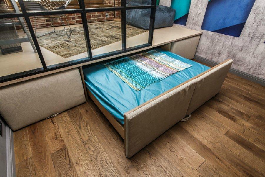 Кровать подиум трансформер
