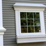 Белые наличники на окно