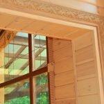Внутренний деревянный наличник