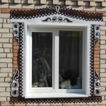 Обналичники из металла для дома из кирпича