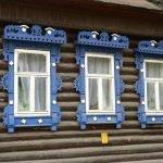 Резные наличники для бревенчатого дома