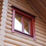 Обналичка окон в деревянном доме
