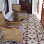 Оригинальная плитка на полу