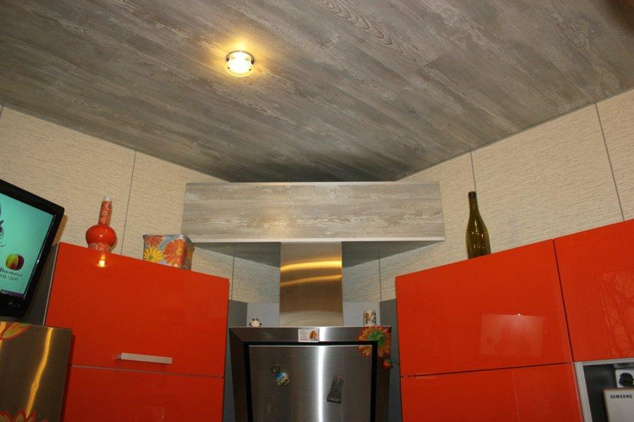 потолок из ламината на кухне фото ваш