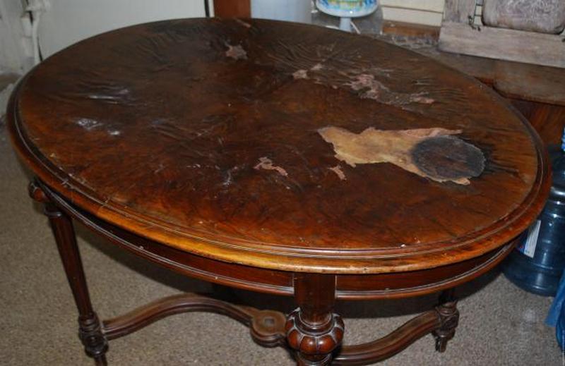 Ремонт старого стола
