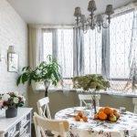 Рольшторы в интерьере кухни