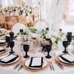 Оформление свадебного стола идеи
