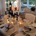 Сезонный декор праздничного стола