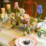 Пасхальная сервировка стола