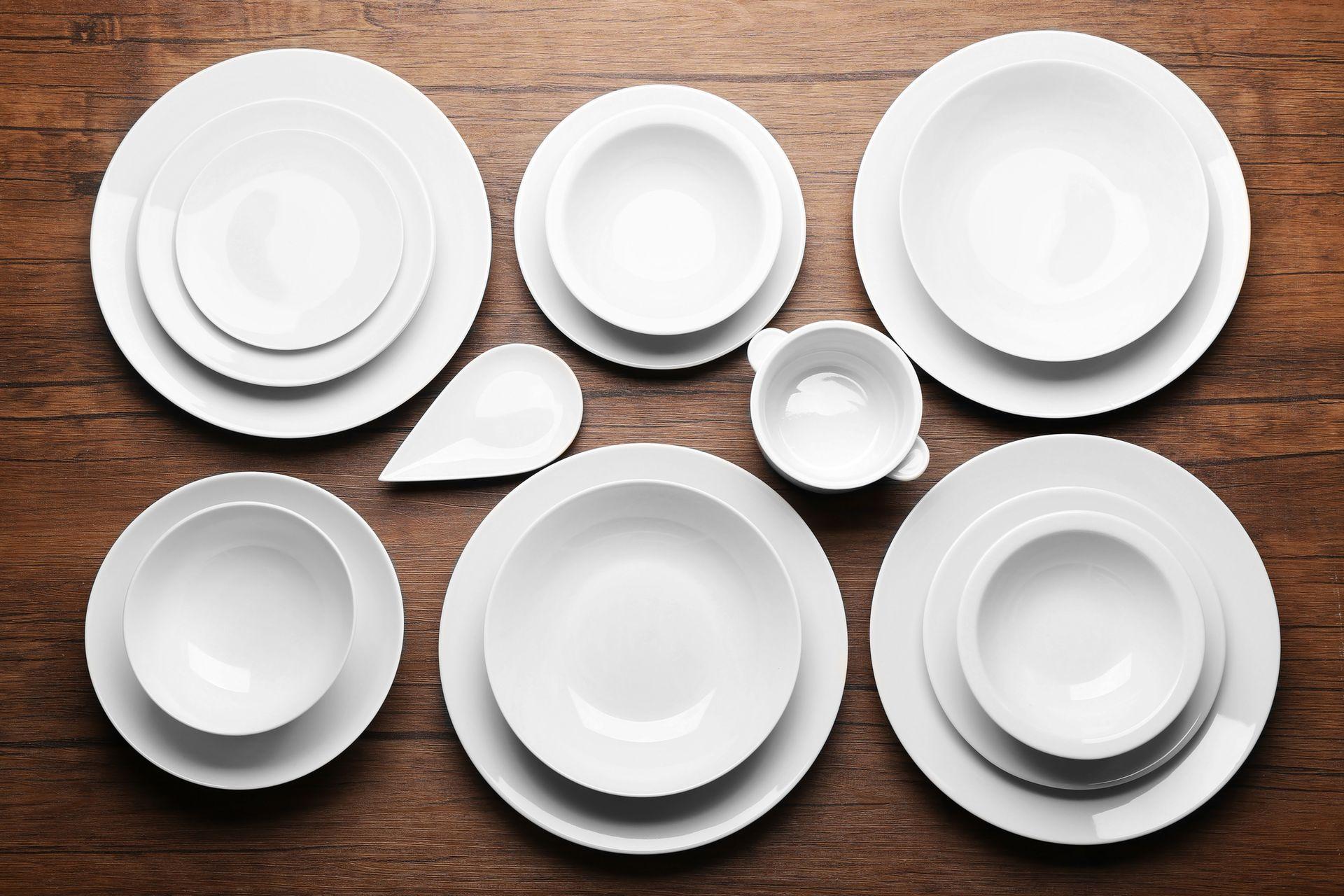 Виды тарелок доя сервировки