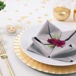 Тканевые салфетки для сервировки