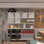 Мини-стеллаж для гаража