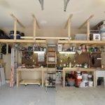 Комбинированный стеллаж для гаража