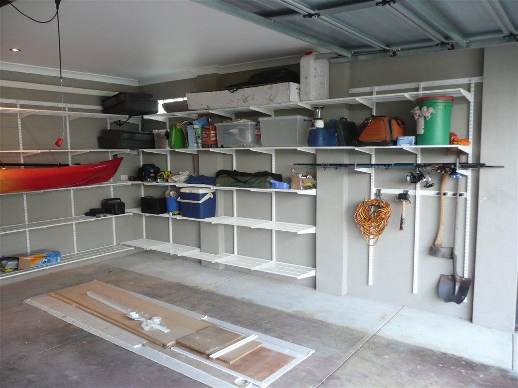 полки в гараже идеи фото полезные средства