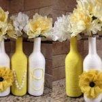 Бутылочные вазы