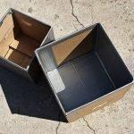 Картонные коробки в деле