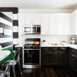 Черно-белая кухня варианты оформления