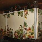 Шкафчики на стене