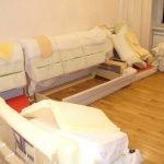 Сборка углового дивана с выдвижным механизмом