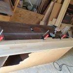 Работа с деревянными брусьями