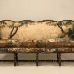 Обивка дивана гобелен