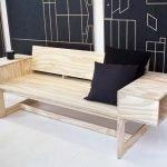 Мини диван из фанеры