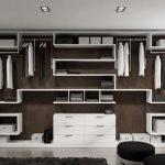 Каркасная система хранения в гардеробной