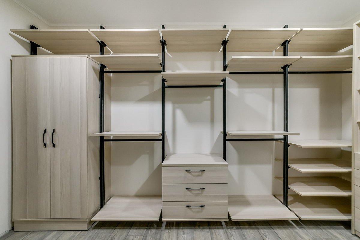 Система хранения вещей в гардеробе