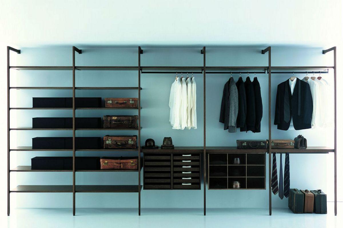 Система хранения вещей в гардеробной
