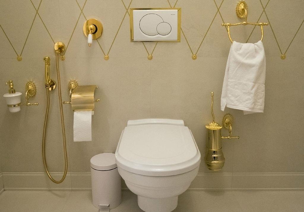 Гигиенический душ рядом с унитазом
