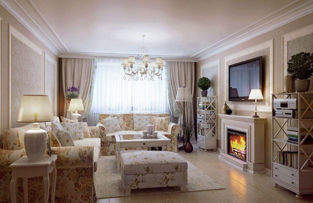 это отражение гостиная в стиле прованс с камином фото уже делились информацией