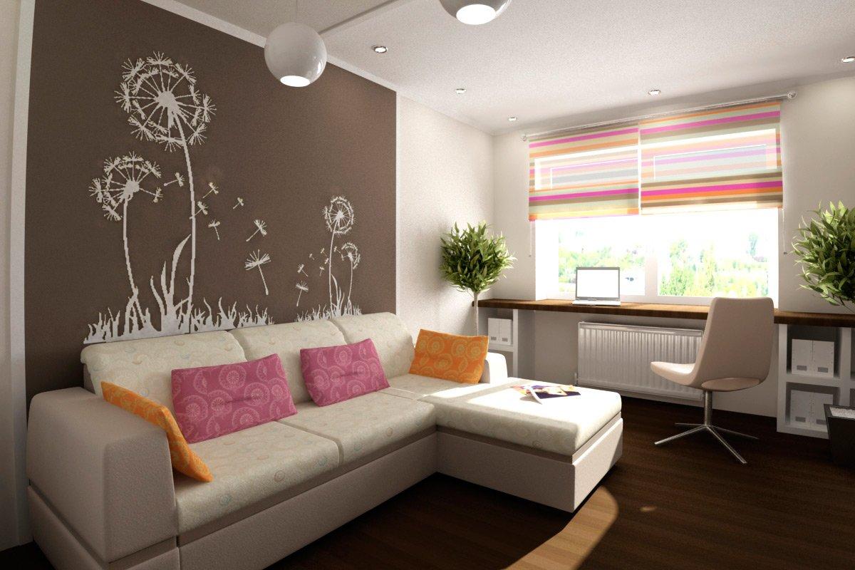 Как обставить однокомнатную квартиру: дизайн интерьера