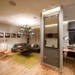 Квартира-студия и выделение зон