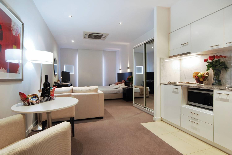 Мебель в квартире-стдии