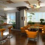 Яркие стулья в квартире