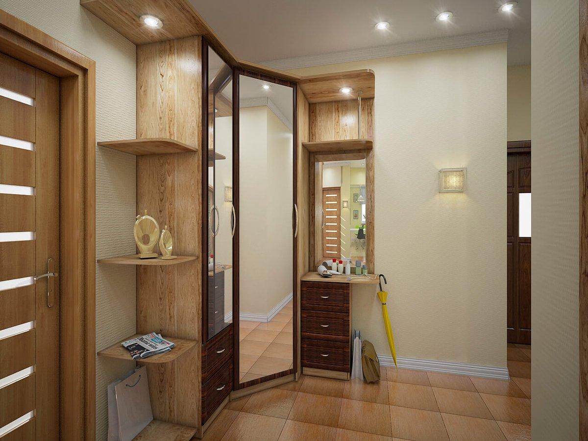 картинки интерьера маленькой прихожей в квартире фото шкатулка