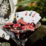 Сервировка в стиле казино