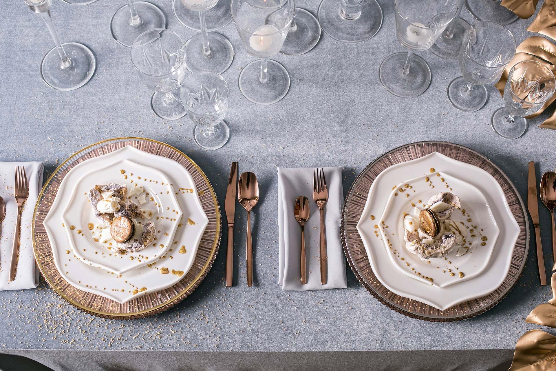 Сервировка стола с итальянским мотивом