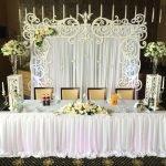 Праздничная скатерть на свадьбу
