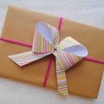 Бант для упаковки подарка