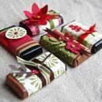 Упаковка шоколадок своими руками