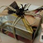 Красивая упаковка подарочной коробки
