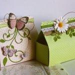 Подарочная коробка для женщины своими руками