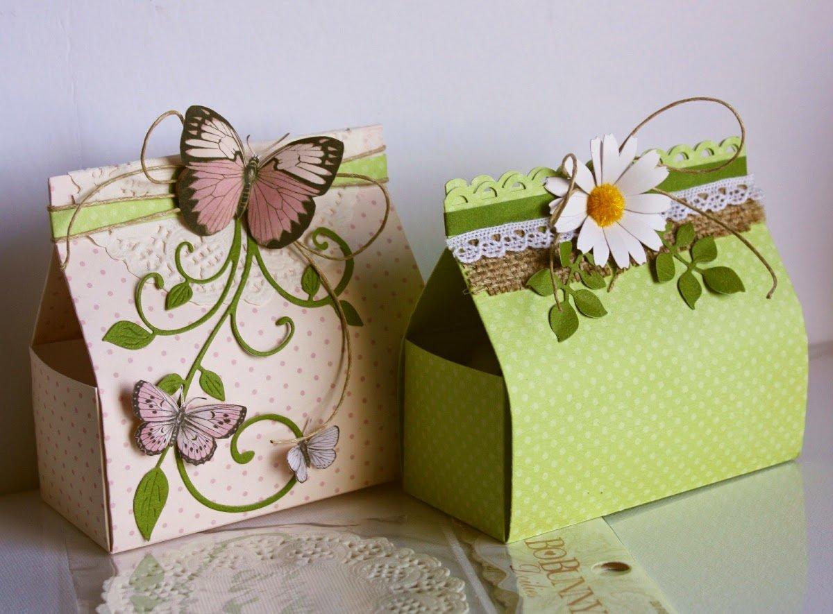 Красивые коробочки своими руками