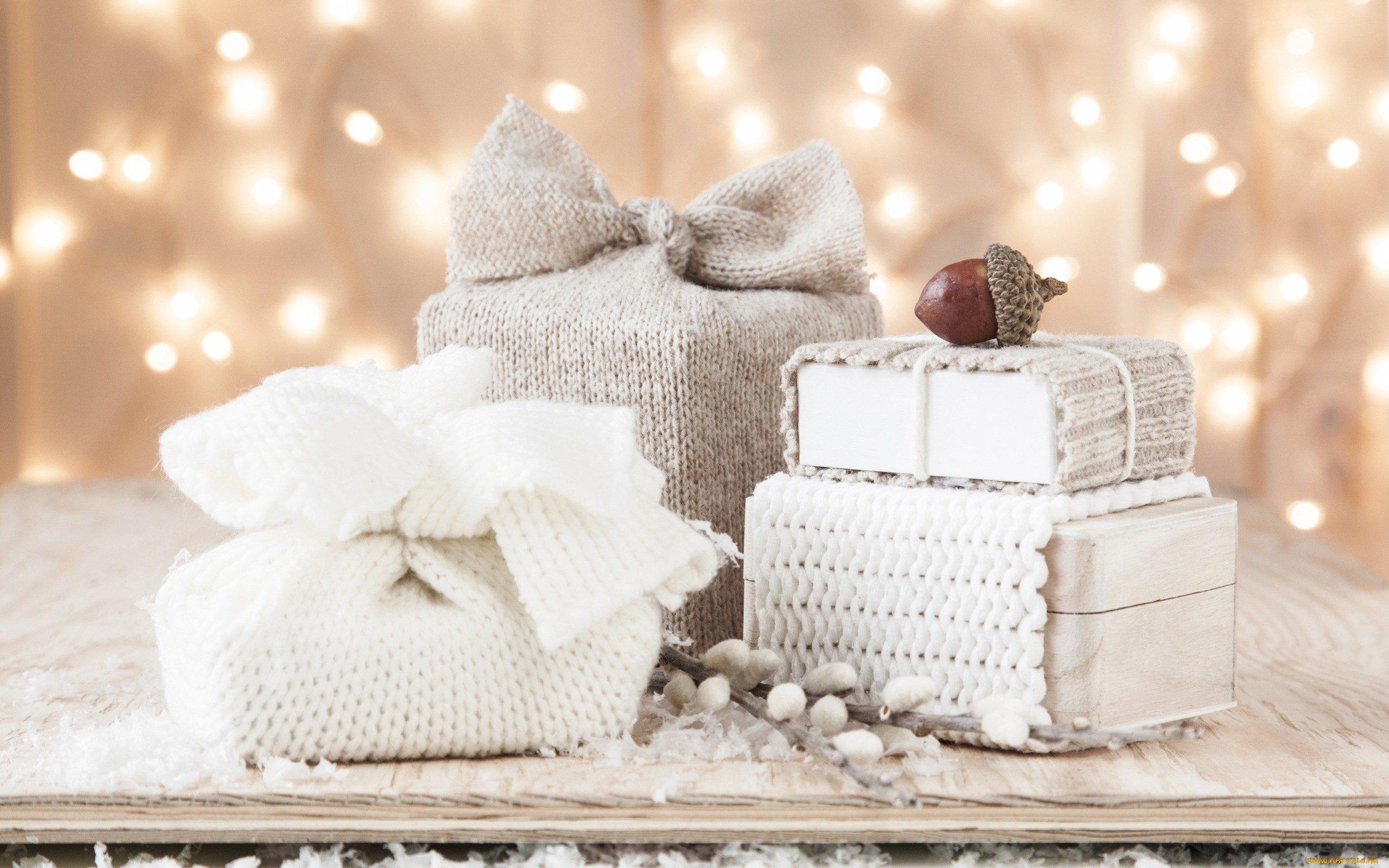 """""""Тёплая"""" упаковка подарка"""
