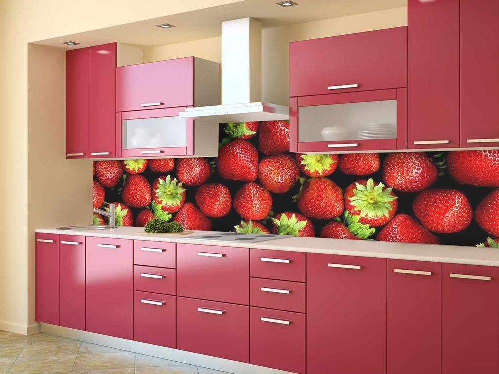Кухонный фартук с фруктами